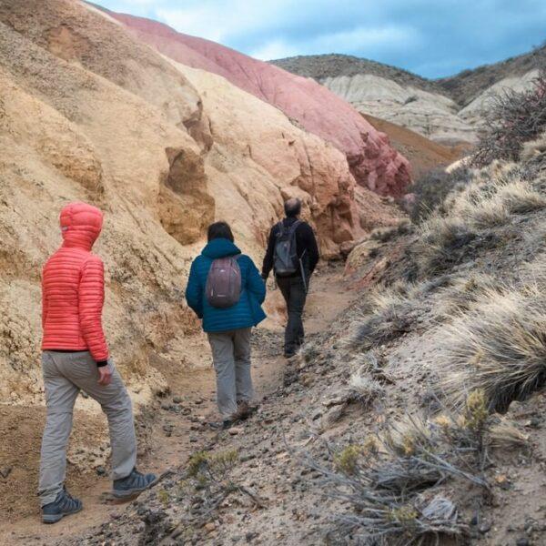 Tierra de Colores Trail - Patagonia National Park, Argentina. (Credit: Fundación Flora y Fauna Argentina)